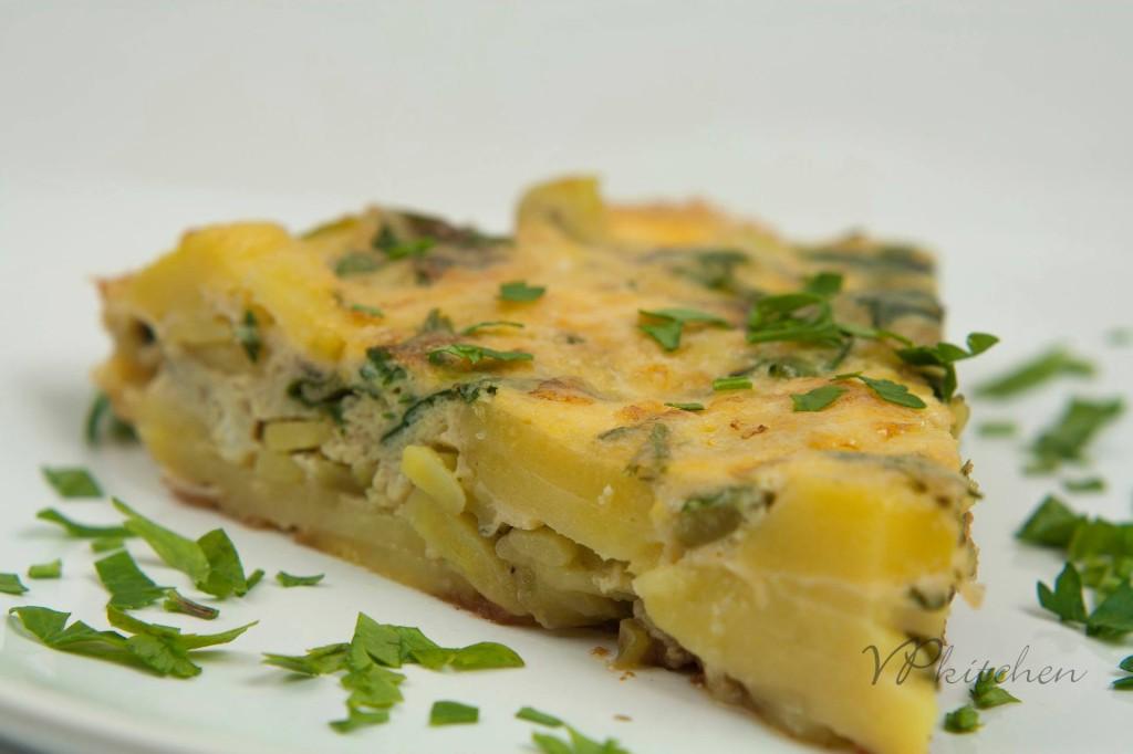 картофена фритата/potato frits