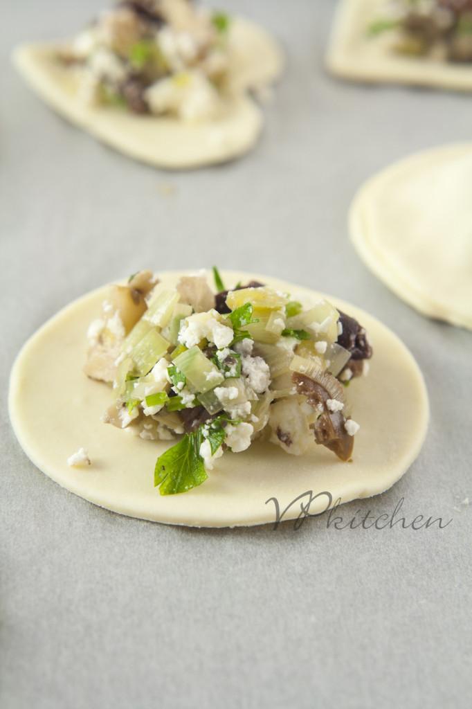 бутерки с гъби и маслини