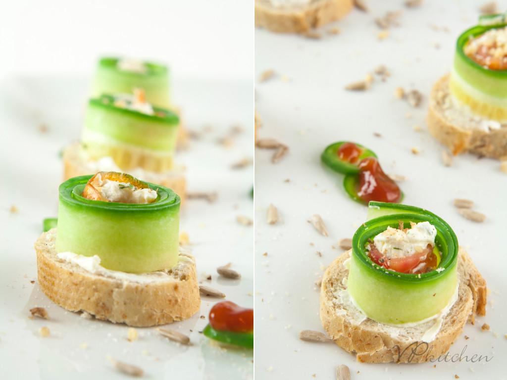 salmon & cucumber
